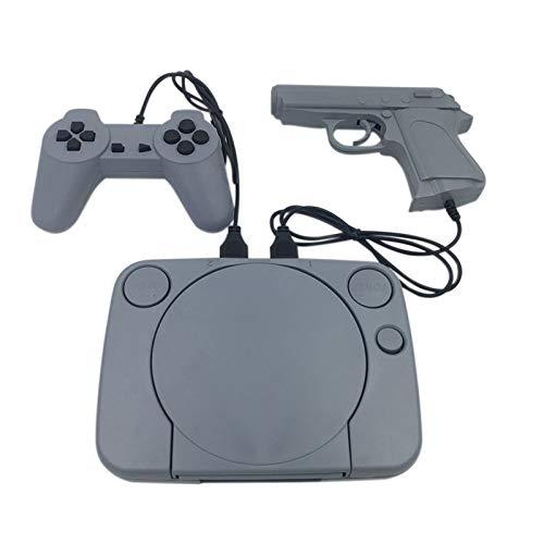 CSMAOYI Videospiele, Video Retro Games Console Duble Gamepad mit 8-Bit-Unterstützung AV Out Put Family TV-Videospiel mit 2-teiligem Controller