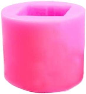 Healifty Vela Molde de Silicona Caja de Regalo 3D Molde de Vela para jabón Hecho a