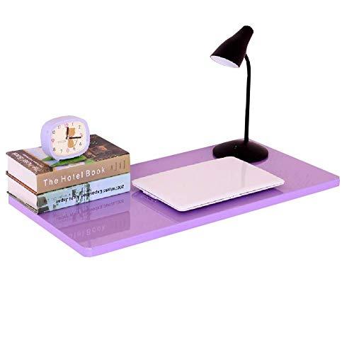 PAPA Klappbarer Kindertisch Computer-Schreibtisch aus Holz zur Wandmontage umwandelbarer Platzspar-Schreibtisch für die Waschküche (Größe: 90 & Times; 40 cm)