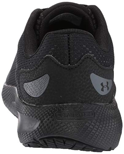Under Armour Men's Charged Pursuit 2 Running Shoe, Black (003)/Black, 11 M US 2