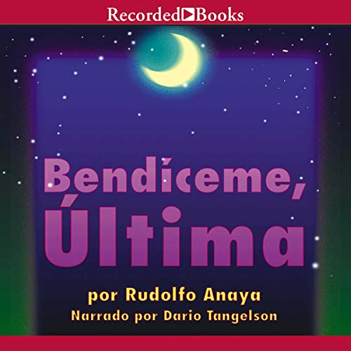 Bendiceme, Ultima audiobook cover art