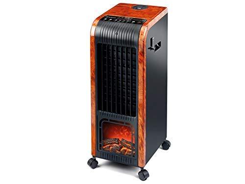 Marner Climatizzatore 4in 1,digitale, tipo Pinguino, 80W per il freddo, 1.000-2.000W per il calore, umidificatore, ionizzatore,funzione freddo/caldo, portatile