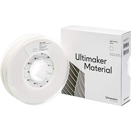 Ultimaker Filament ABS - M2560 White 750 - 206127 ABS 2.85 mm bianco 750 g