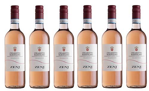 6x0,75l - 2019er - Zeni - Bardolino Chiaretto Classico D.O.C. - Veneto - Italien - Rosé-Wein trocken