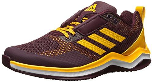 adidas Performance Men's Speed Trainer 3.0, Maroon/Collegiate Gold/White, 7 M US