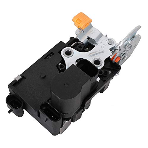 Door Lock Actuator- Front Left Driver Side - Compatible with Cadillac Chevy GMC Vehicles - Escalade, Avalanche, Silverado, Suburban, Tahoe, Sierra, Yukon - Replaces 15110643, 15053681, 15068499