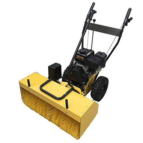 Cacoffay Hand Push Small Snow Blower Gasoline Road Self-propelled Snow Clearer Economic Snow Remover