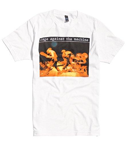 Rage Against The Machine Live Tom Morello Rock Ufficiale Uomo Maglietta Unisex (Small)