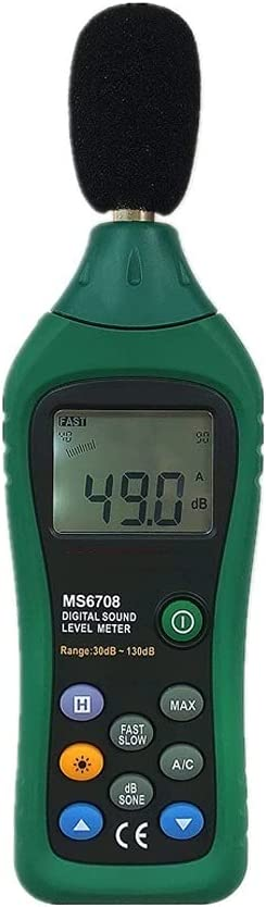 GYZX Oakland Minneapolis Mall Mall Handheld Industrial Digital Sound A Display Level Meter LCD