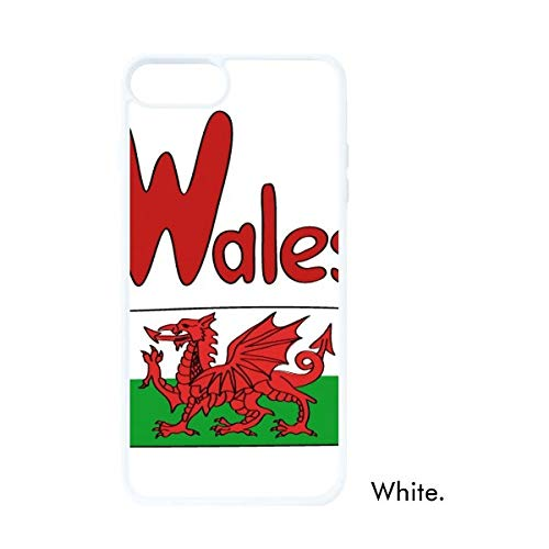DIYthinker Wales Nationale Vlag Rood Groen Patroon Wit Phonecase Apple Cover Case Gift