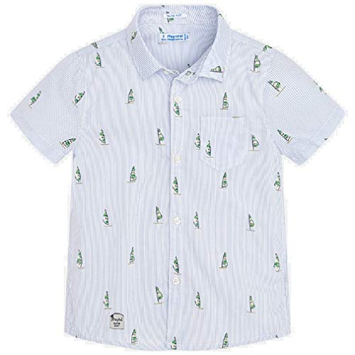 Mayoral Camisa Manga Corta Estampada niño Modelo 3166