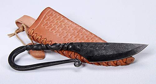Toferner - Cuchillo de Acero Celta - Forjado a Mano y Aspect