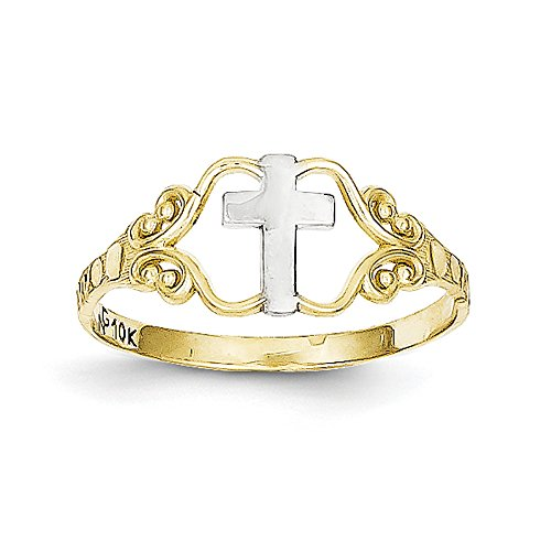 10k Two Tone Ring - 2