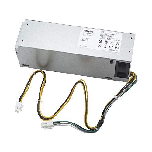 HotTopStar - Fuente de alimentación para DELL Optiplex 3046 3050 5050 7050 Mini Tower L240ES-00 HU240AS-02 H240NM-00 H240NM-02 HU240AS-00 P/N: J61WF DK87P F484X DW3M7 HT04K (240 W)