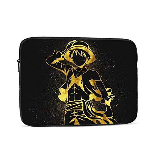 Laptop Shoulder Bag,O-N-E Pie-Ce Luffy Computer Tote Briefcase,Compatible Computer Laptop Cases For Family Friends,15in/39.5x28x1.5cm