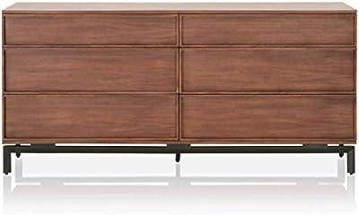 Amazon.com: Acme 04998 San Marino Dresser, acabado en nogal ...