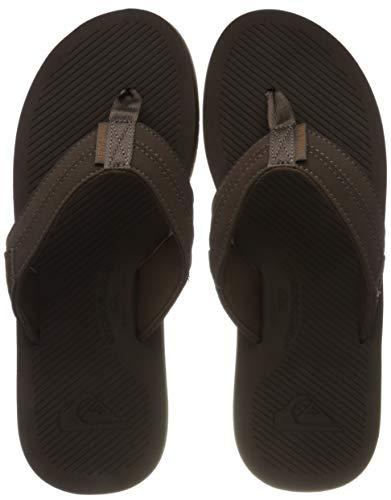 Quiksilver Coastal Oasis III, Zapatos de Playa y Piscina para Hombre, Marrón (Brown/Brown/Brown Xccc), 45 EU