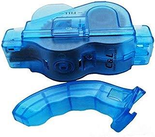 8Eninine Bicicleta de montaña Cadena Limpiador Carretera Bicicleta Limpieza Máquina Herramienta Azul