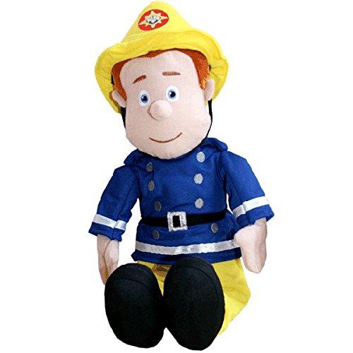 XXL Sam der Feuerwehrmann Stofftier Plüschtier Plüsch Stoff Kuscheltier Puppe