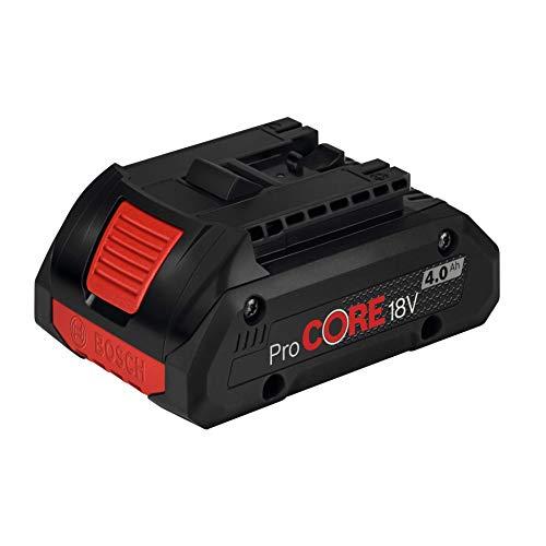 Bosch Professional 1600A016GB ProCore Batterie Professionnelle 4 Ah 18 V 81 Noir