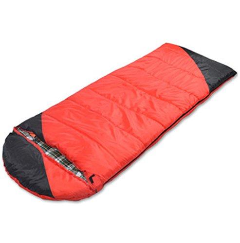 sacco a pelo Busta con il cappuccio per adulti escursione di campeggio esterna (190 + 30) * 80cm