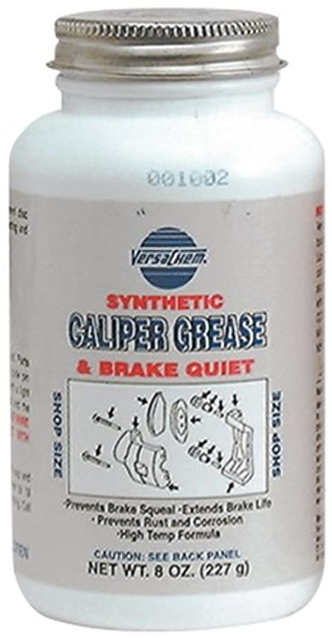 Versachem 26080 Synthetic Caliper Grease - 8 oz. Bottle with Brush