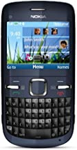 Nokia C3-00 Unlocked Cell Phone (Slate) with QWERTY, Dedicated E-mail Key, 2 MP Camera, Media Player, WLAN, and MicroSD Slot
