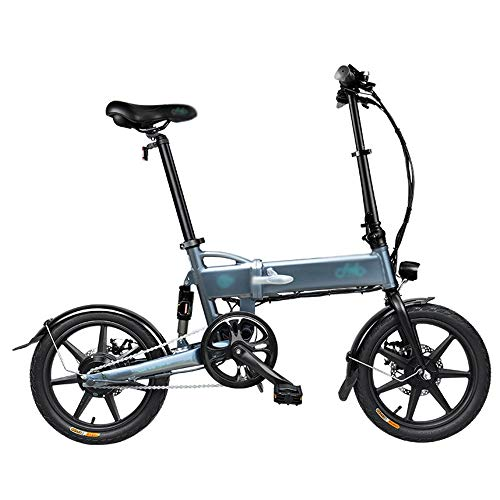 PHASFBJ Bicicleta Eléctrica Plegables, Bicis Electrica Fat Bike Adulto con Ruedas de...