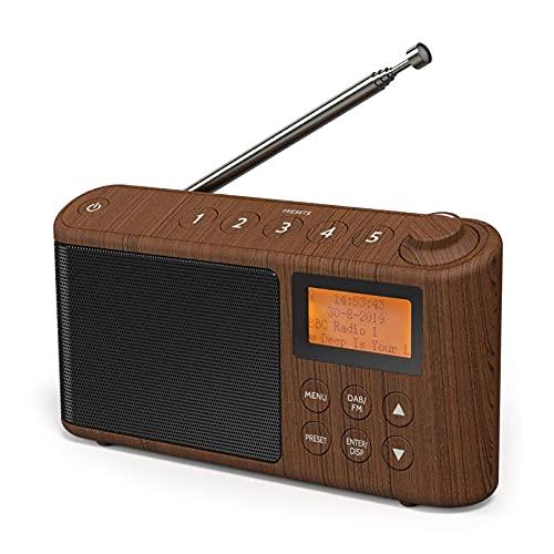 DAB/DAB+ & FM Radio, Mains and Battery Powered Portable DAB Radios...