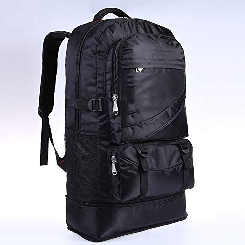 DFSDG 60L waterproof male nylon backpack travel pack sports bag pack Outdoor Mountaineering Hiking Climbing Camping backpack for men