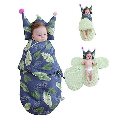 Sac De Couchage Bébé Nouveau-Nés, Bébé Cocoon Laisse Modèle Couverture Enveloppe Transport Sac Enveloppes pour Couche Cocon pour Enfants