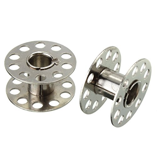 GGGarden 25Pcs Standard Sewing Machine Bobbins Rotary Spools Reels Part Home Accessories