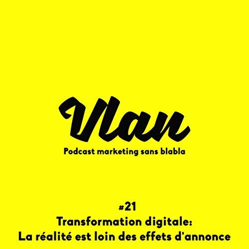 Transformation digitale. La réalité est loin des effets d'annonce ! cover art