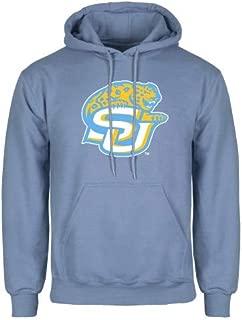 Southern University Light Blue Fleece Hoodie 'SU w/Jaguar'