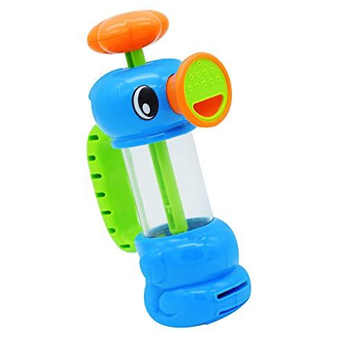 Wencaimd Badzubehör Baby Wasser Spielzeug Lustige Bad Dusche Schwimmbad Spielzeug Wasserpumpe Spielzeug Stil Pool Sprühwerkzeug für Kinder Kinder Bad Spiele für Badezimmer Whirlpool Paneele