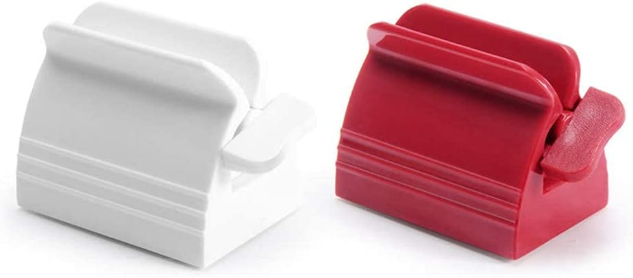 KONGSHOP Manual Regular discount Toothpaste Squeezer Plastic Rotating Max 72% OFF Extruder Ro