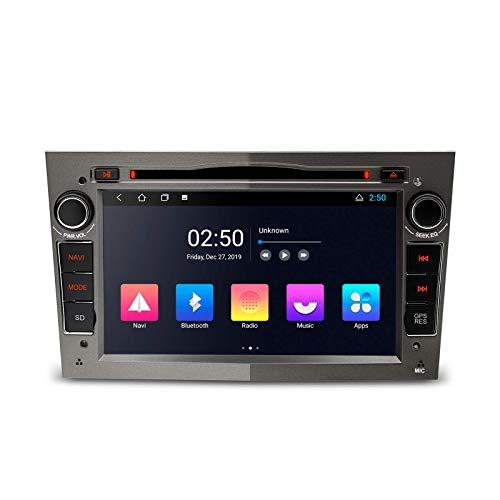 7 pulgadas Android 10 Car Stereo Bluetooth Radio Reproductor de DVD Navegación GPS Unidad principal de video 2K para Opel / Vauxhall / Holden Admite Android Auto Full RCA Cámara de respaldo WiFi OBD2