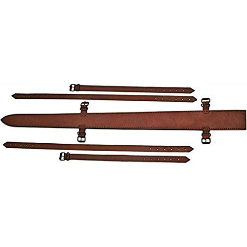 SZCO Supplies Top Grain Leather Sword Sheath, 38-Inch