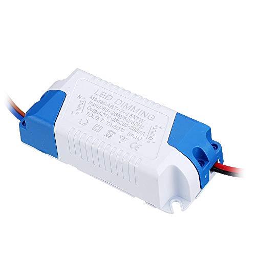 Módulo electrónico 7W 9W 12W 15W LED no aislada del conductor de modulación de luz Fuente de alimentación externa AC90-265V constante Tiristor actual Módulo de regulación 10pcs Equipo electrónico de a