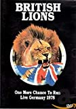 British Lions - One More Chance to Run: Live Germany 1978 [Import anglais]