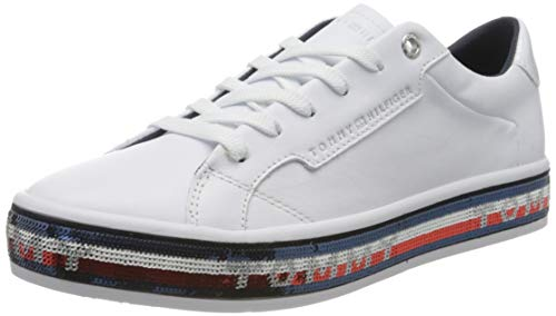 Tommy Hilfiger Sequin Foxing Dress Sneaker