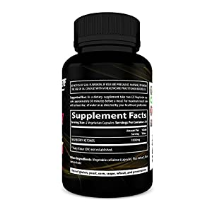 100% Pure Raspberry Ketones Extract New Extra Strength Appetite Suppressant, Energy Booster, All Natural, 60 Vegetarian Capsules #3