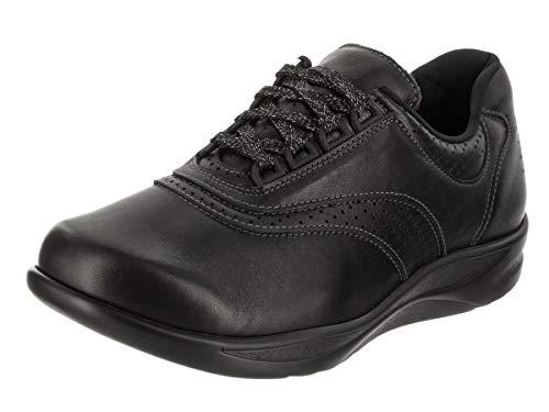 SAS Walk Easy Black 9.5 W - Wide (C)