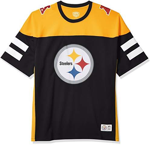 OTS NFL Pittsburgh Steelers Men's Alton Jersey, Team Color, Medium