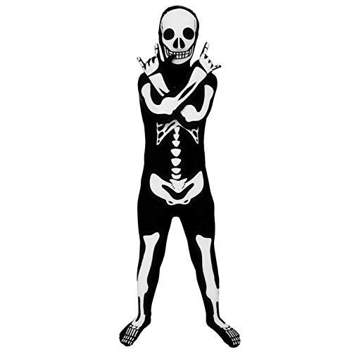Morphsuits - Enfants Squelette Brillant Pour Hauteur 135-152 Cm - Taille L