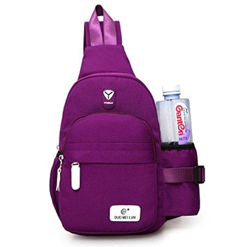 Cuddty Sling Shoulder Backpack - Bolsa de deporte con bolsa de agua para mujer