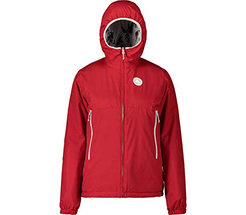 Maloja Müsellam Damen Jacke S Rot (Haze Winter Rose)