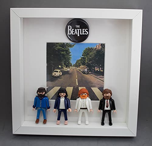 Cuadro Clicks playmobils THE BEATLES: Abbey Road