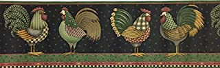 Whimsical Country Roosters Debbie Mumm Wallpaper Border Imperial no. 31052340
