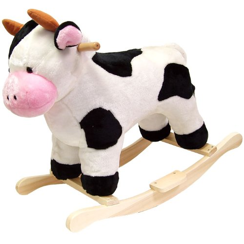 Happy Trails Cow Plush Rocking Animal Now $47.86 (Was $159.99)